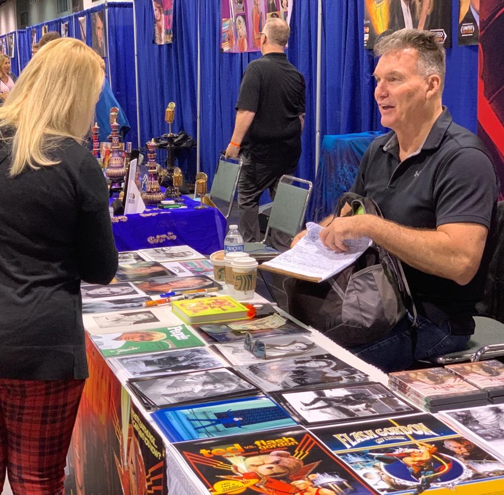 Flash Gordon played by Sam Jones