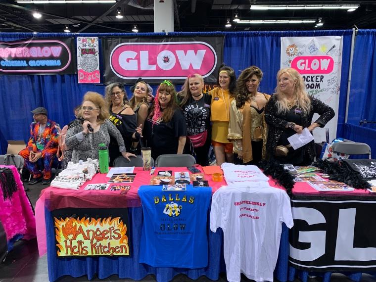 Original Glow girls!